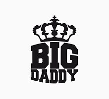 Logo Crown Big Daddy father's day hero dad Vater T-Shirt