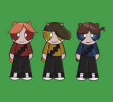 Bears Rowdyruff boys team! One Piece - Short Sleeve