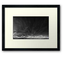 ©HCS Cirrus Blur IAR Monochrome Framed Print
