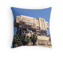 Wave Goodbye to the Real World Throw Pillow
