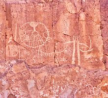 Legacy Of Our Ancestors - Petroglyphs Owens Valley California by Ram Vasudev