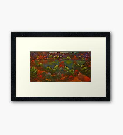 Quechee Lake Framed Print