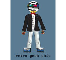 Retro Geek Chic Photographic Print