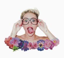 Miley Cyrus || Flowers by lauraduh