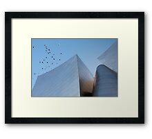 Walt Disney Concert Hall - Los Angeles California Framed Print