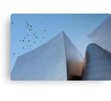 Walt Disney Concert Hall - Los Angeles California Canvas Print