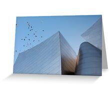 Walt Disney Concert Hall - Los Angeles California Greeting Card