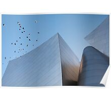 Walt Disney Concert Hall - Los Angeles California Poster