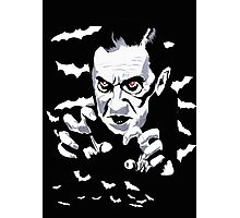 Dracula the vampire Photographic Print