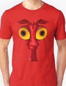 My little monster red Unisex T-Shirt