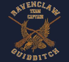 Harry potter ravenclaw quidditch team Flag by threesecond