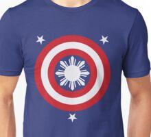 Captain Philippines! (White Sun) Unisex T-Shirt