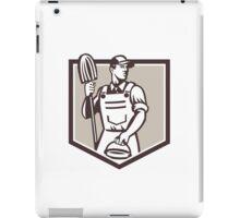 Bodybuilder Flexing Muscles Retro iPad Case/Skin