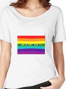 Support Gay Rights Women's Relaxed Fit T-Shirt