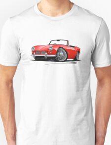 Triumph Spitfire (Mk1) Red T-Shirt