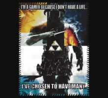 I am a gamer because by touhidkudchi