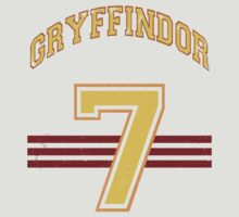 GRYFINNDOR Potter Away Jersey by Benjamin Whealing