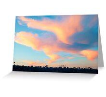 Last Sunset 2013 - Newport Beach California Greeting Card
