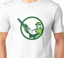 Tree Surgeon Chainsaw Retro Unisex T-Shirt