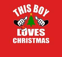 This Boy loves Christmas Unisex T-Shirt