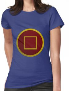 Chinese Gugong coin symbol Womens Fitted T-Shirt