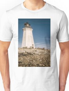 Black Rock Harbor Lighthouse  Unisex T-Shirt