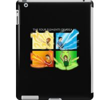 The Four Elements of Area 11 - White text iPad Case/Skin