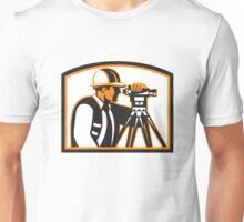 Surveyor Geodetic Engineer Survey Theodolite Unisex T-Shirt