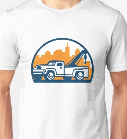 Vintage Tow Truck Wrecker Retro Unisex T-Shirt