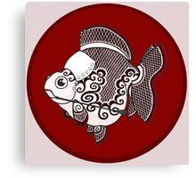 Goldfish Irene Adler Canvas Print