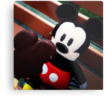 Sweet Mickey Metal Print