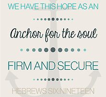 Hebrews 6:19 by bbesemer