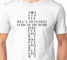 I Am A Sinner Unisex T-Shirt