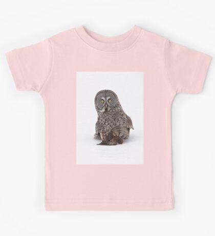 Great Grey Owl  Kids Tee