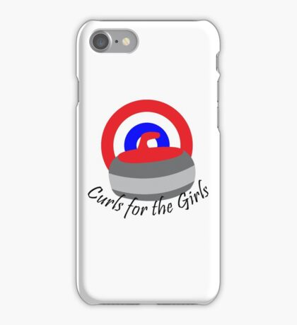 Curls for the Girls iPhone Case/Skin