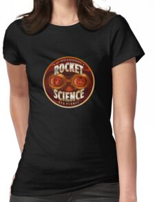 Rocket Science Red Planet T-Shirt Womens Fitted T-Shirt