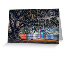 Balmain Tree Greeting Card