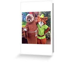 On to Sherwood Forest! Greeting Card