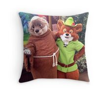 On to Sherwood Forest! Throw Pillow