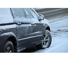 snow car Photographic Print