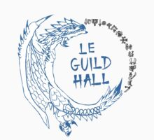 Monster Hunter Le Guild Hall-White Reusu by S4LeagueProps