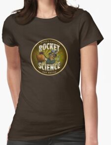 Rocket Science Mad Hatter Womens Fitted T-Shirt