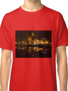 Amsterdam Central Station at Night Classic T-Shirt
