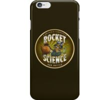 Rocket Science Mad Hatter iPhone Case/Skin
