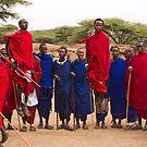 Maasai welcome dance by Philip Alexander