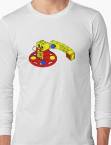 The Duplo Telephone Rattle In Original Version Long Sleeve T-Shirt