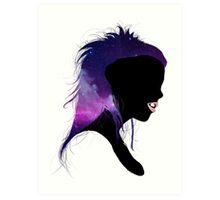 Galaxy Vi$$er. Art Print