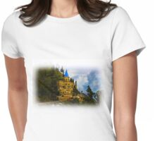 Castle In The Sky Womens Fitted T-Shirt