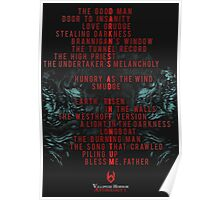 DARKNESS AD INFINITUM - 19 Letters Poster