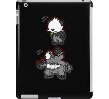 Pancham & Pangoro Distressed Style iPad Case/Skin